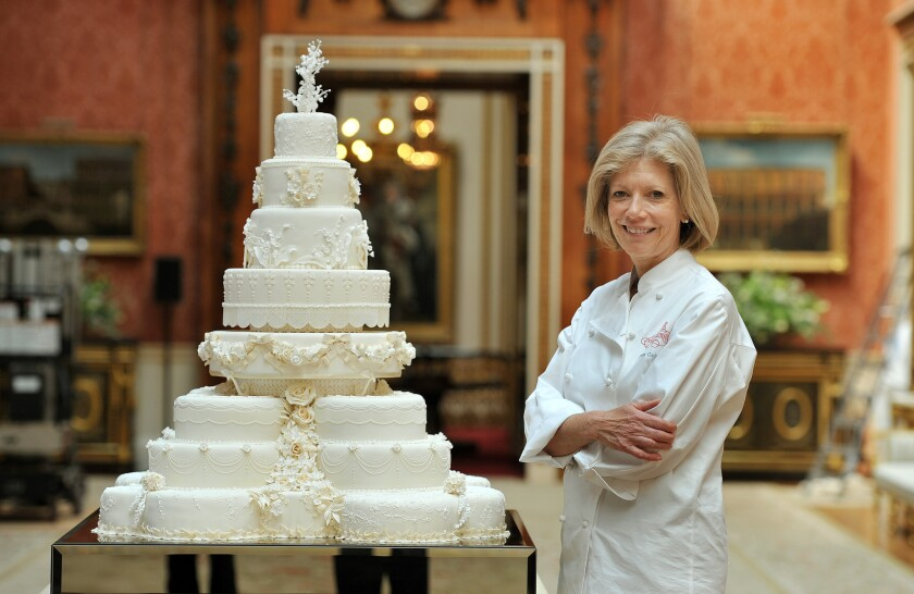 A Slice Of Will And Kate S Wedding Cake Goes On The Auction Block