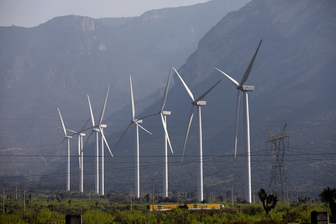 Parque Eolico Santa Catarina is a power station with eight wind turbines.