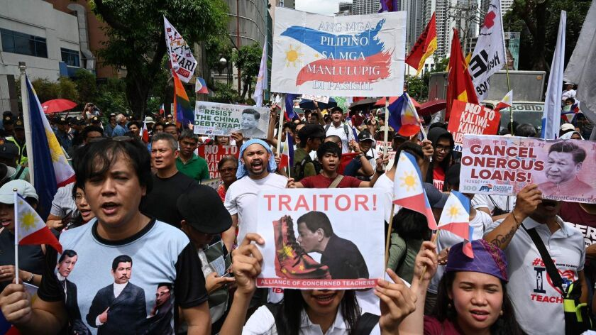 PHILIPPINES-CHINA-MARITIME-PROTEST