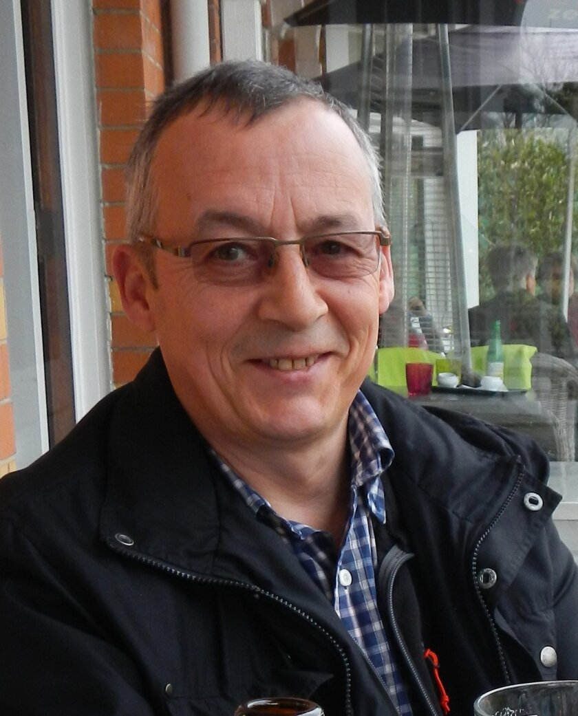 This photo provided on Wednesday March 30, 2016 by Wenger Manufacturing shows employee Belgian Nic Coopman. The 58-year-old was at Brussels airport to catch a business flight when he was killed in the March 22 bombings. Coopman was a service technician in the Antwerp office of the firm, which makes extrusion equipment for the food and feed industry. (Family photo courtesy of Wenger Manufacturing via AP)