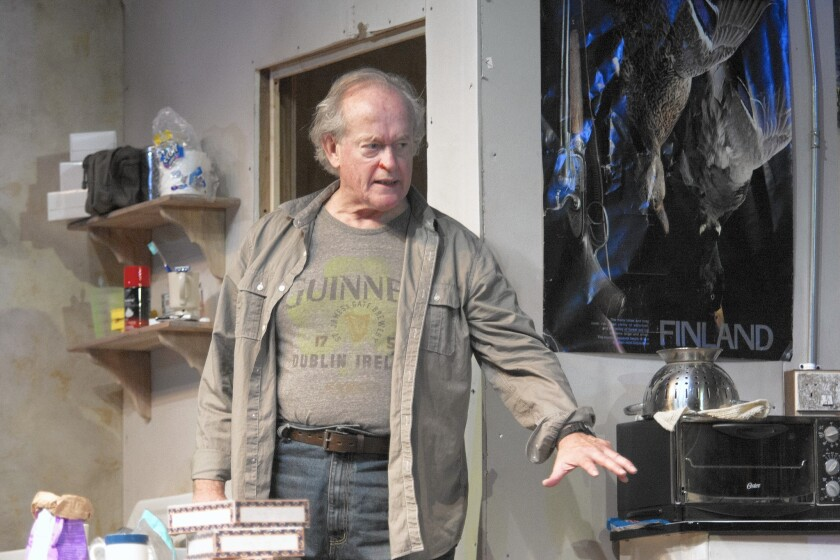 The Geffen cast is led by Paul Vincent O'Connor.