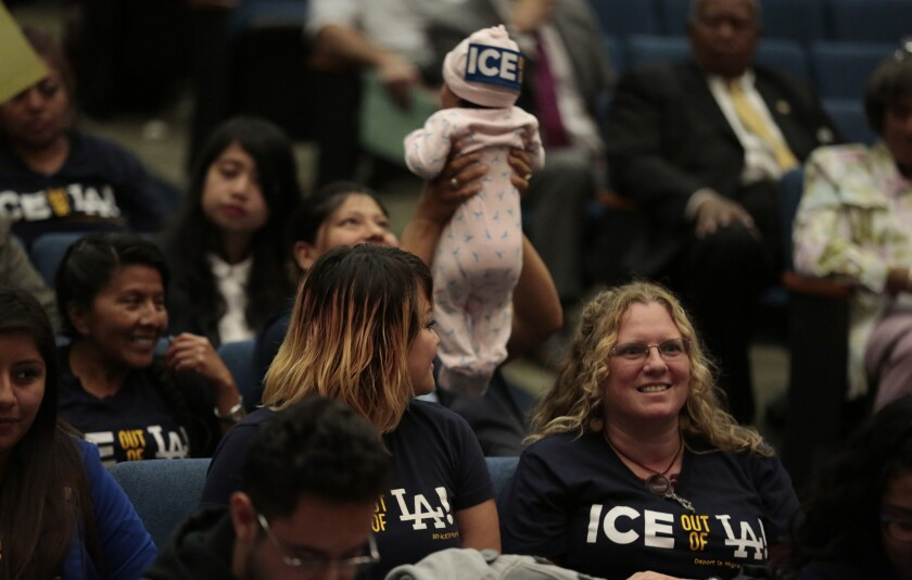 L.A. County supervisors vote to end program known as 287(g)