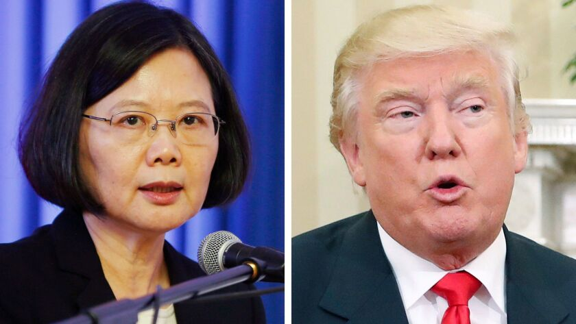 A high-profile meeting between Taiwanese President Tsai Ing-wen and U.S. President-elect Donald Trump might anger China to the point of retaliation, an analyst says.