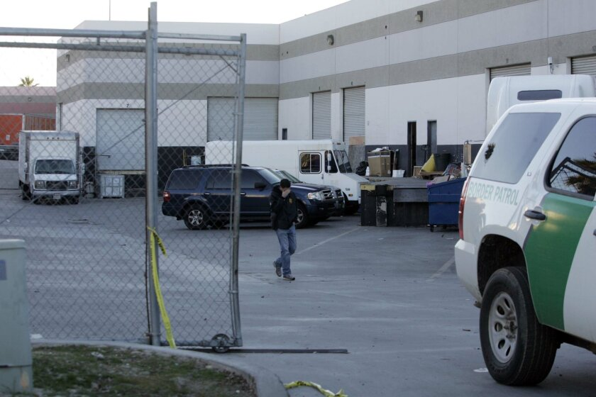 In November 2010, U.S. Drug Enforcement Administration agents investigated a warehouse on Marconi Drive in Otay Mesa that was where a drug tunnel from Tijuana surfaced.