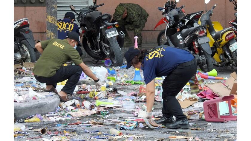 PHILIPPINES-CONFLICT-EXPLOSION