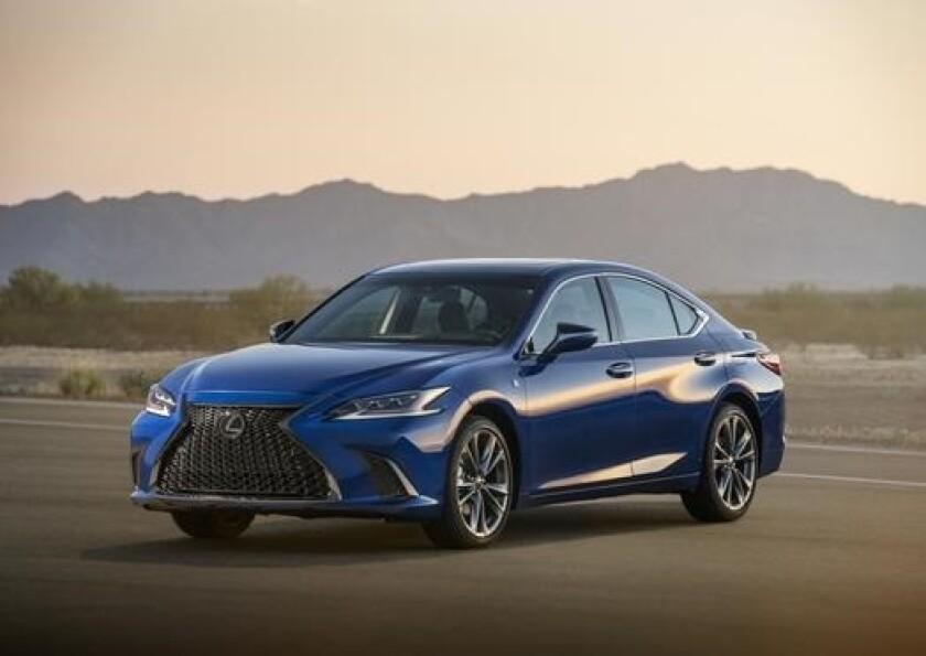 Lexus, la séptima generación del modelo ES