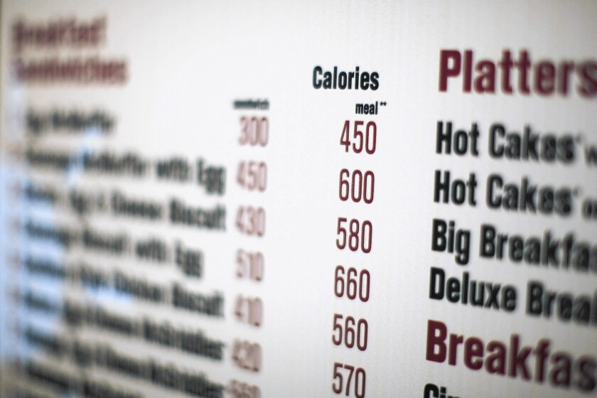 California requires restaurants to put nutritional information on menus, but in an insane example of government bureaucracy at its most inept, the law isn't being enforced.