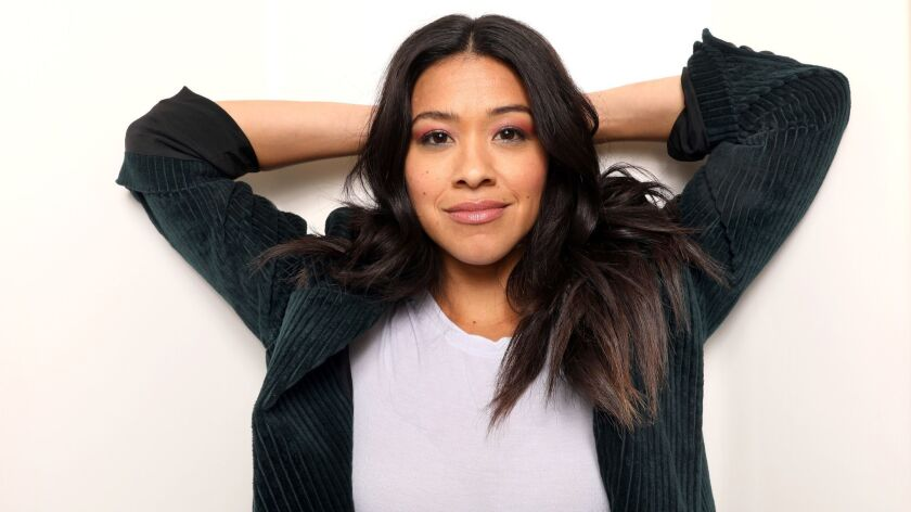 """LOS ANGELES, CALIFORNIA--JAN. 14, 2019--Actress Gina Rodriguez has a busy year ahead, starring in """"M"""