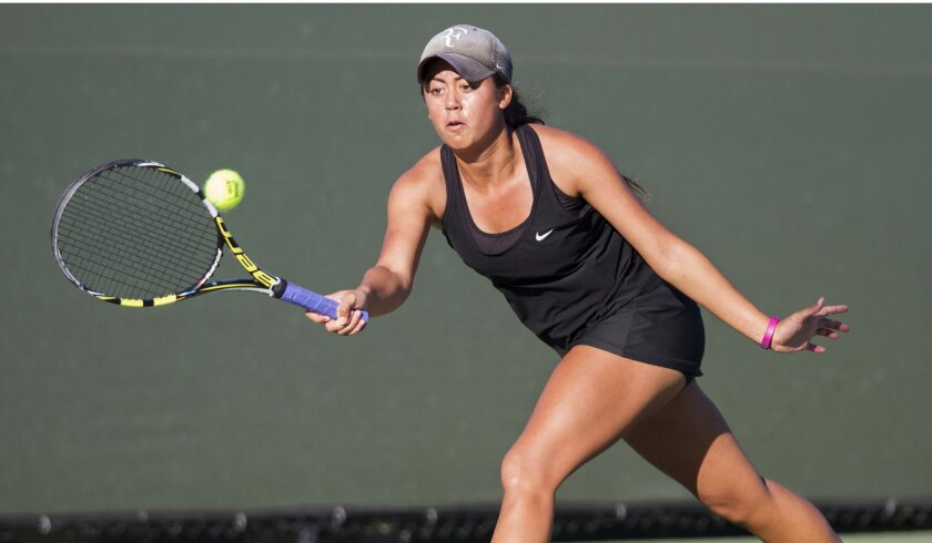 La Jolla Country Day's Paulina Ferrari, the section runner-up in singles, will attend Columbia next year.