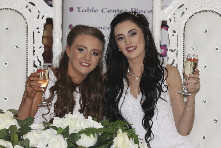 same sex marriage in northern ireland in Crawley