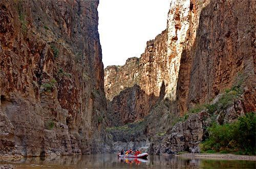 Rafting Big Bend National Park, Texas