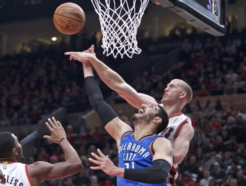 NBA: Portland Trail Blazers wallop Oklahoma City Thunder to end skid