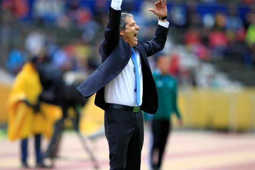 El técnico colombiano Carlos 'Piscis' Restrepo. EFE/Archivo