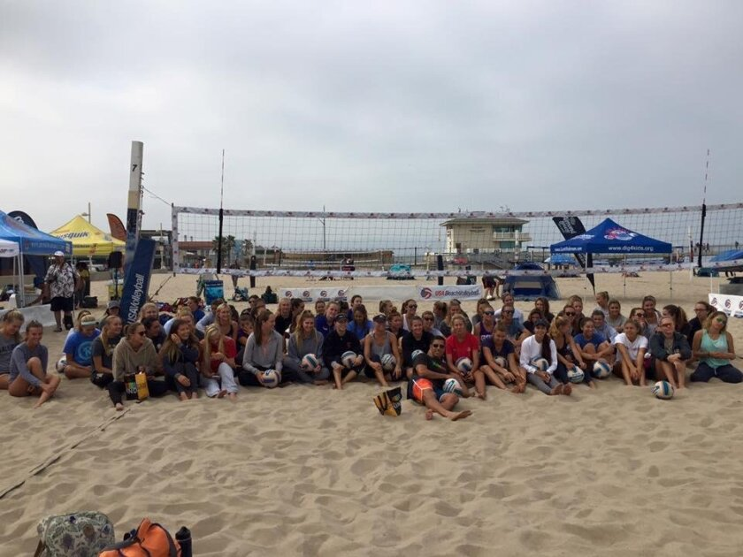 Participants of the Queen of the Beach Invitational tournament, 25-26 June.