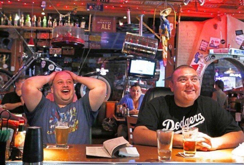Dodgers' winning streak is good for businesses
