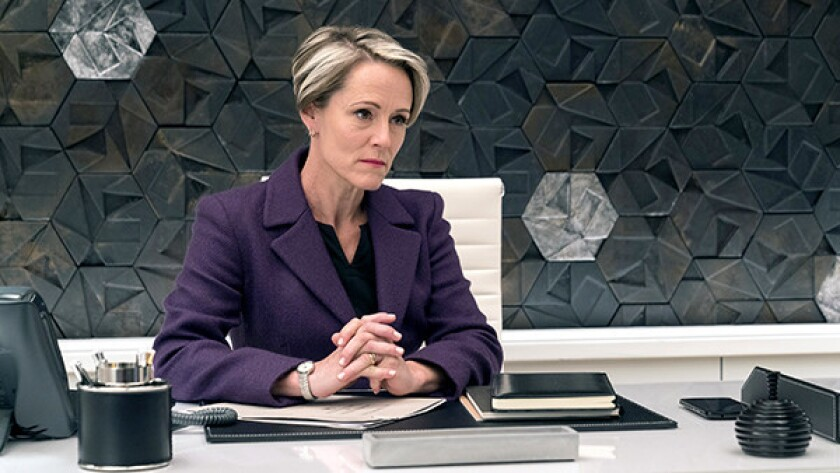 "Mary Stuart Masterson continues her guest role in ""Blindspot"" on NBC."