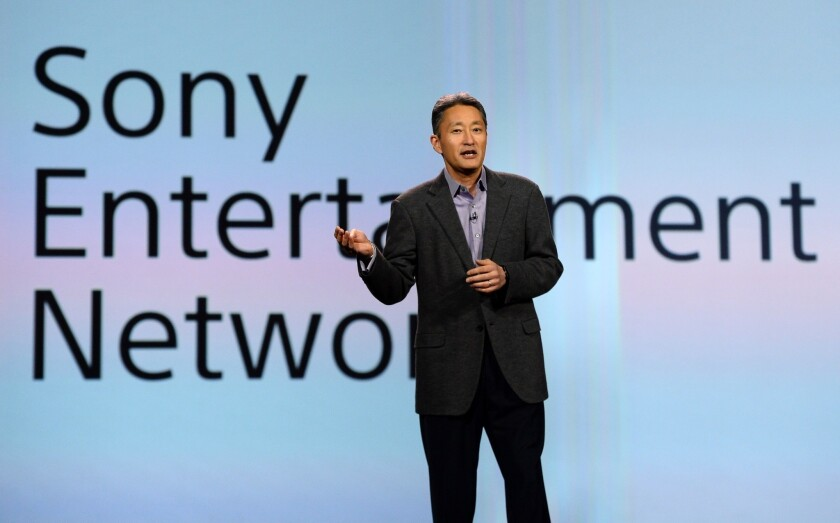 Sony Corp. CEO Kazuo Hirai delivers keynote at 2014 International CES