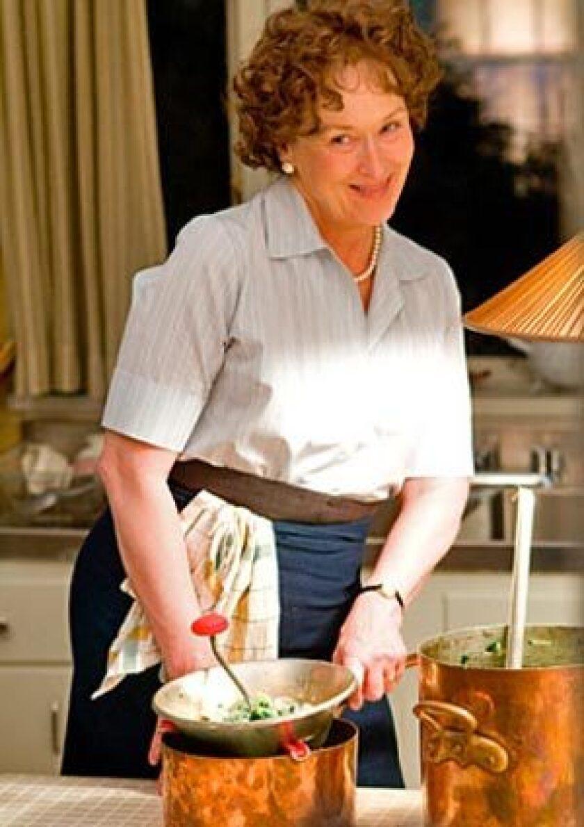 """Meryl Streep in """"Julie & Julia"""""""