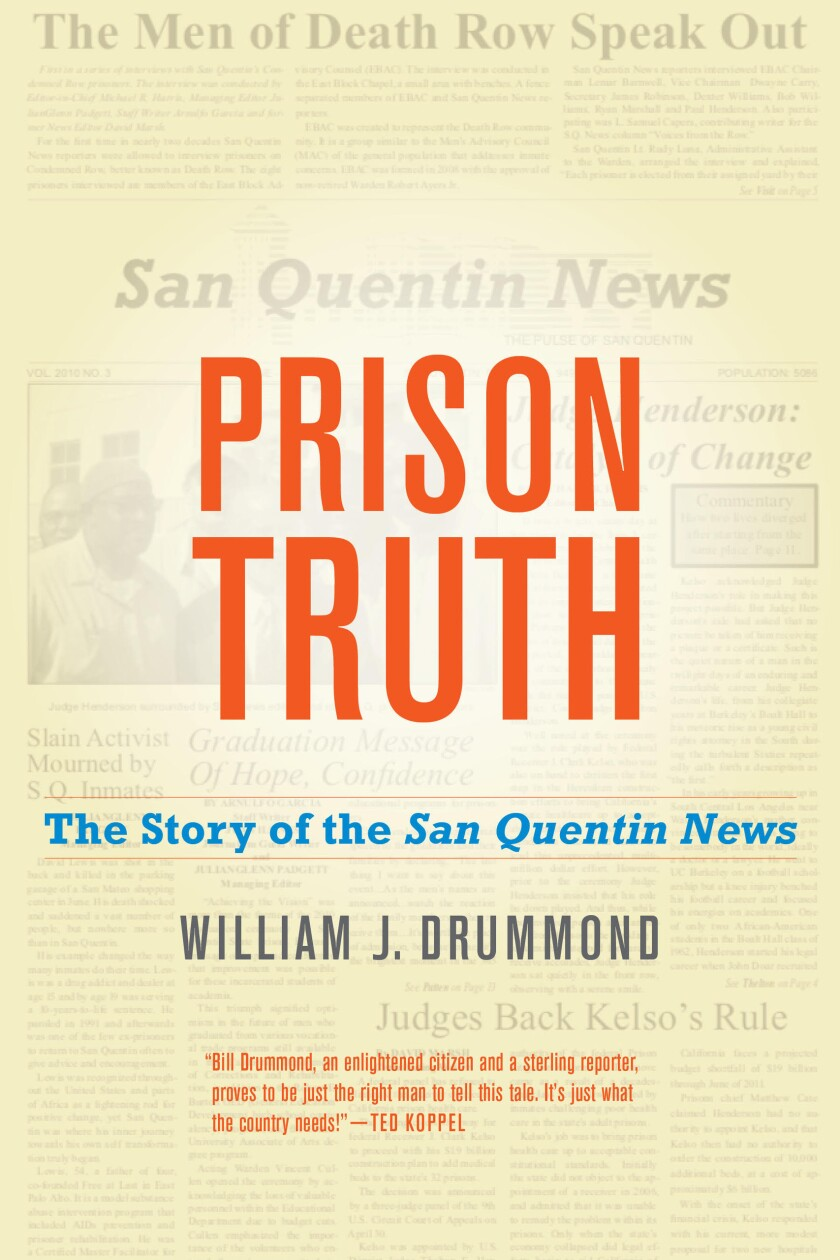 "Book cover for ""Prison Truth."""