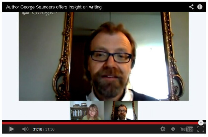 George Saunders on writing, empathy and 'Tenth of December'