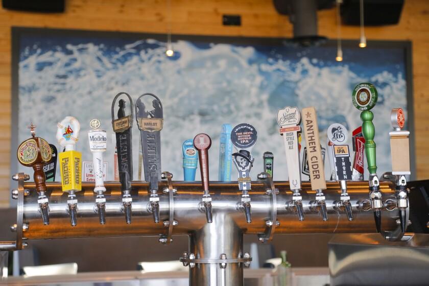 Waterbar beer taps