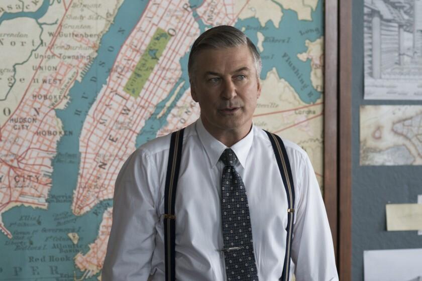 "Alec Baldwin in the movie ""Motherless Brooklyn."""