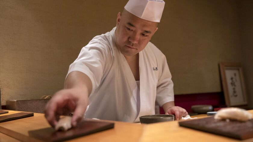 How a Tokyo chef makes 54-day-old sushi taste better than the fresh stuff - The San Diego Union-Tribune