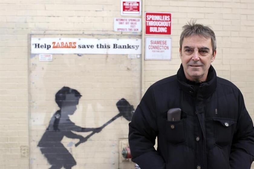 El periodista español Francesc Peirón posa para Efe durante una entrevista el pasado viernes 1 de febrero de 2019, en la ciudad de Nueva York (EE.UU.). EFE