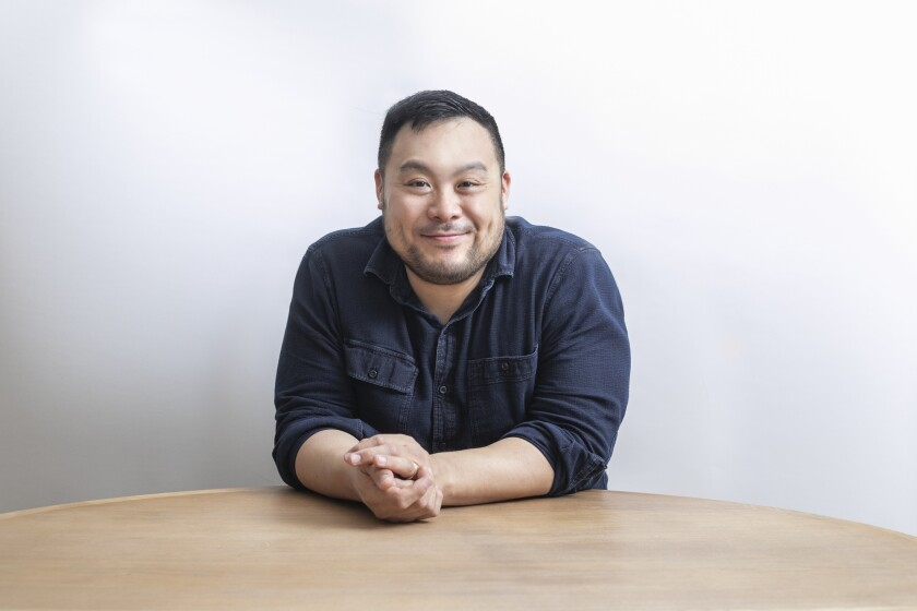 Portrait of David Chang.