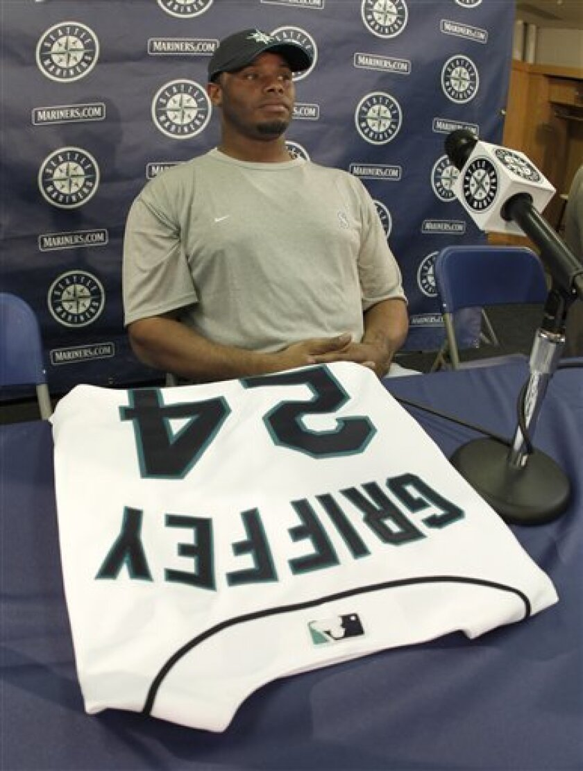 release date: c1067 c72d9 Griffey returns to Mariners after 9-year absence - The San ...