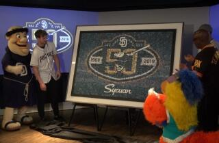 Padres unveil 50th anniversary logo