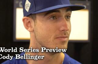Cody Bellinger on getting advice from his father
