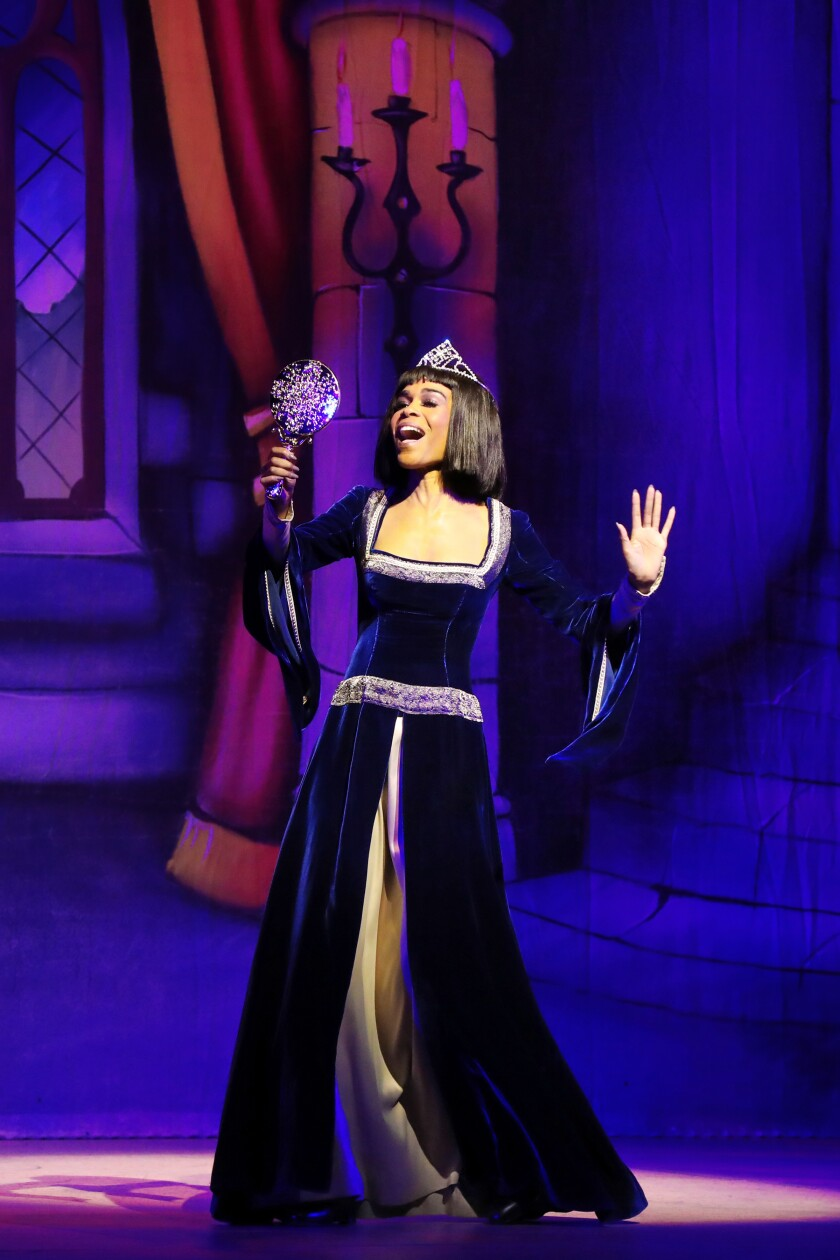 """Michelle Williams in """"A Snow White Christmas"""""""
