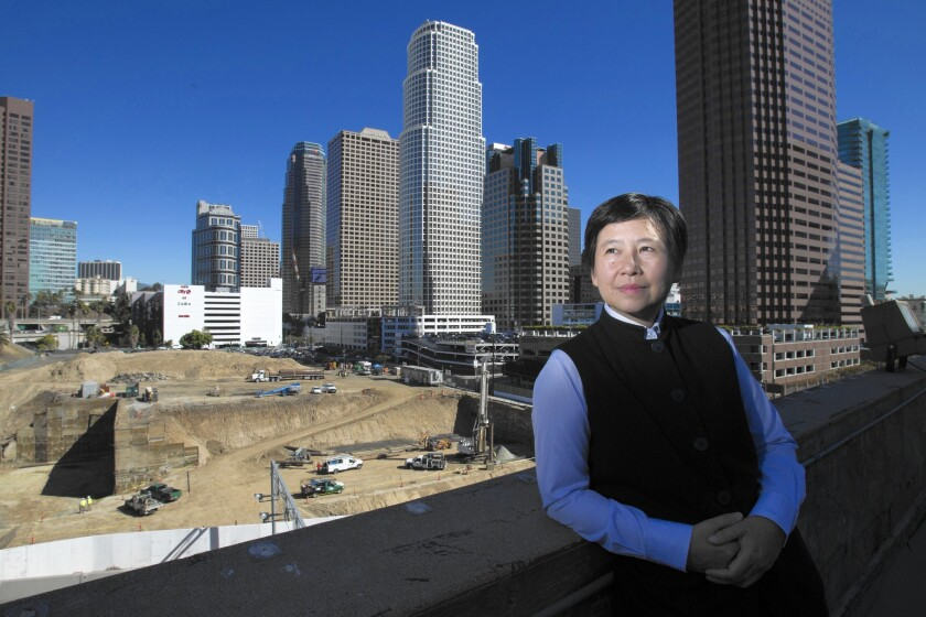 """""""Downtown is undergoing a tremendous change that is so exciting,"""" says I Fei Chang."""