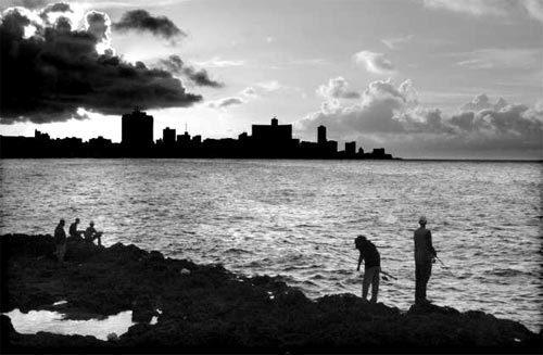 Cuba: Sunset in Havana