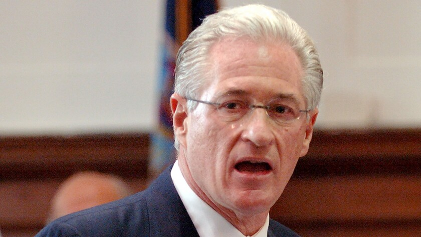 Marc Kasowitz, pictured in 2005, as a lawyer for the Port Authority of New York and New Jersey in the civil case involving the 1993 World Trade Center Twin Tower bombings.