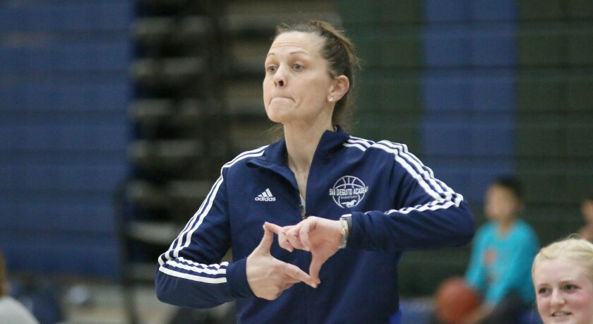 Head Coach Aubree Smithey and SDA will be looking for their second CIF title in three years.