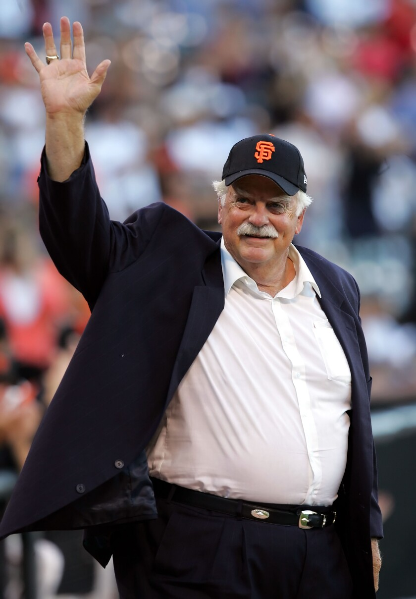Gaylord Perry pitched 22 years in the major leagues, the first 10 seasons with the San Francsco Giants, during his Hall of Fame career.