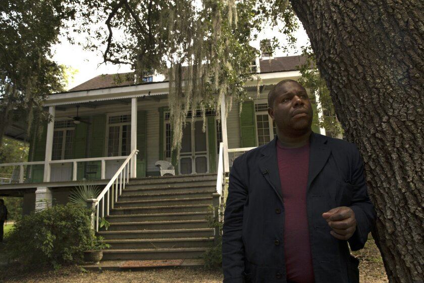 """Director Steve McQueen revisits a plantation site where he filmed the movie """"12 Years a Slave."""""""