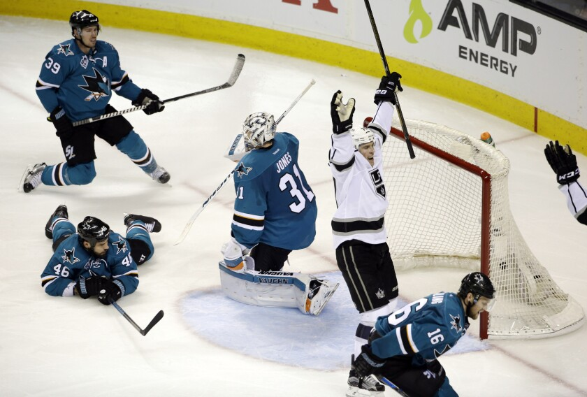 Tanner Pearson gives Kings overtime win in Game 3