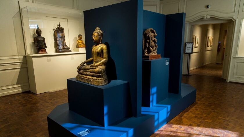 PASADENA, CA - DECEMBER 05: Southeast Asian Art from the USC Pacific Asia Museum's permanent collec