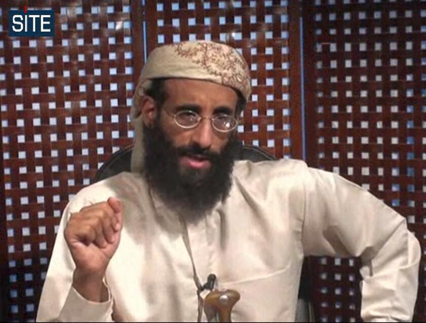 Anwar Awlaki was killed by a U.S. drone strike in Yemen in 2011.