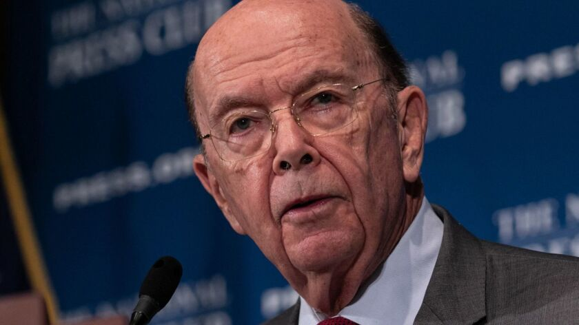 Commerce Secretary Wilbur Ross last year announced he had decided to add a citizenship question to the census for the first time since 1950.
