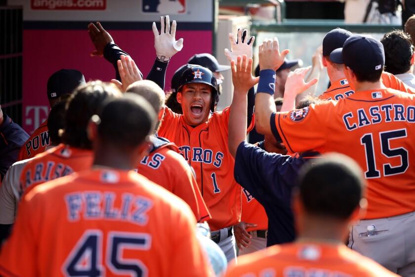 Carlos Correa homer dumps Angels in 13 innings