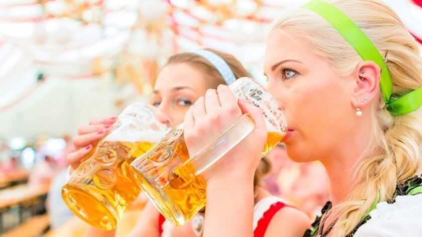 Lagers and ales are flowing as San Diego celebrates Oktoberfest.
