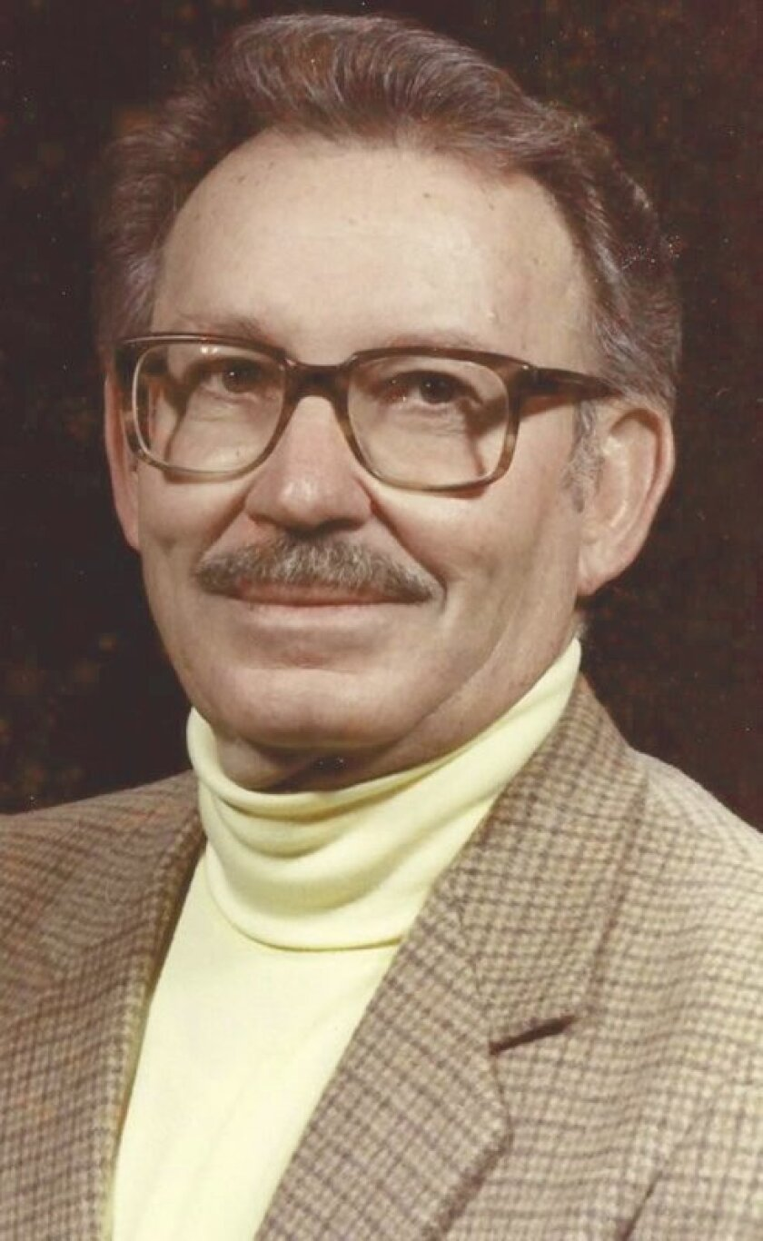 Mr. Syd Franklin in his teaching days