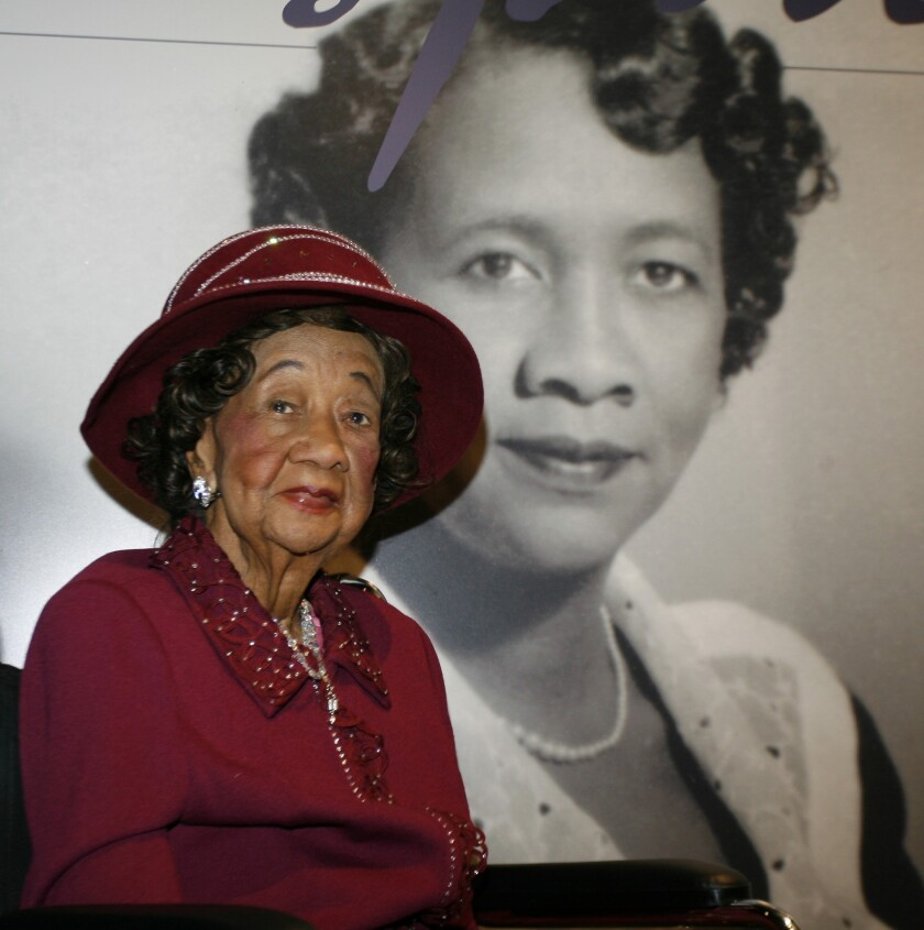 Dorothy Height, 98, known as the queen mother of the civil rights movement, led the National Council of Negro Women for 40 years and helped integrate the YWCA.