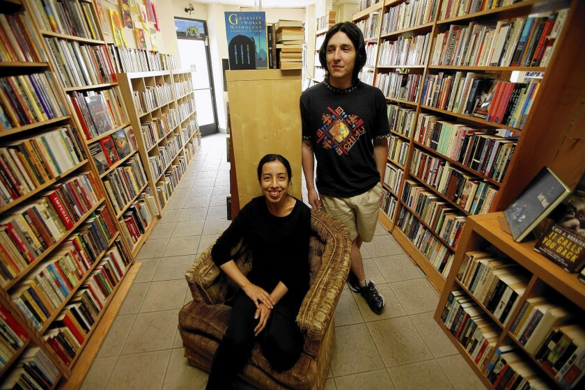 The little Seite bookshop inside mom's dress store is an oasis of literary culture in a book-starved corner of L.A.