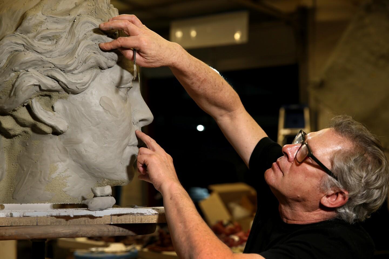 Hecuba, queen of Troy sculpture unveiled