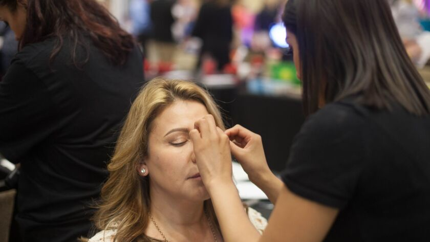 Makeover sessions will be included at this year's San Diego Women's Week opening day event at the Del Mar Fairgrounds.